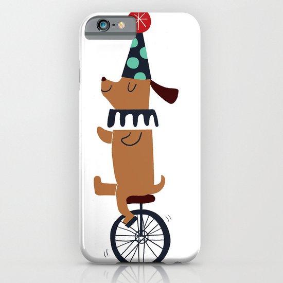 circus dog iPhone & iPod Case