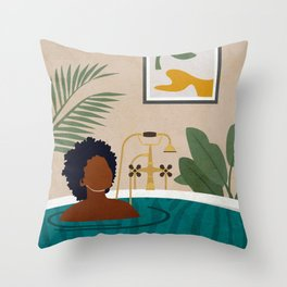 Stay Home No. 2 Throw Pillow