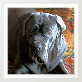 My dog Ovelix! Art Print