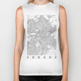 Ankara Map Line Biker Tank