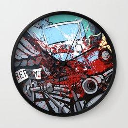 Atto di colore #2 Wall Clock