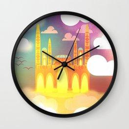 Castle of the Djinn Wall Clock