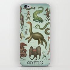 CRYPTIDS iPhone & iPod Skin