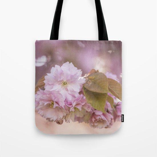 Cherryblossom LOVE - Sakura - Pink Flower Flowers on #Society6 Tote Bag