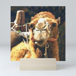 Middle Eastern Camel Mini Art Print