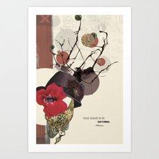 Your Mind Is In Disturbia Art Print