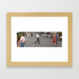 Unknown Faces In Different Places (Pt 6 - Verona, Italy) Framed Art Print