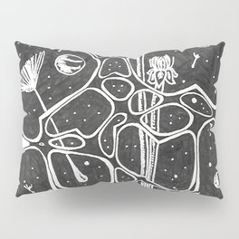 Space Forest Pillow Sham