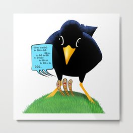 Blackbird with a Chorus Metal Print