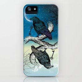 Raven's Key Night+Day iPhone Case