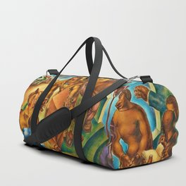 African American Masterpiece 1939 Five Great American Negroes by Charles White Duffle Bag