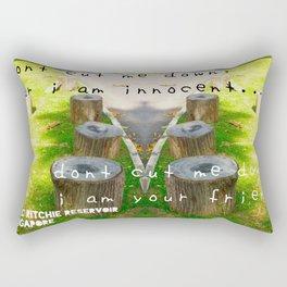 TREE STUMP Rectangular Pillow