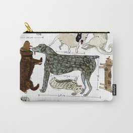 Dogs' Specificity Carry-All Pouch