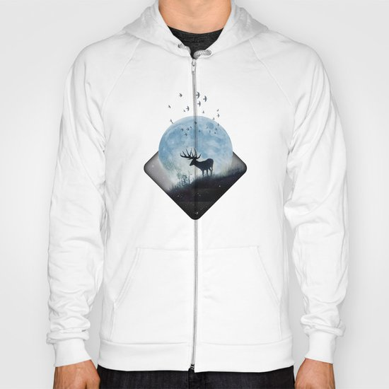 blue moon spill Hoody