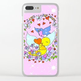 """""""Courage And More"""" Clear iPhone Case"""