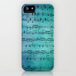 Painted Music iPhone Case