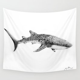 Whale Shark Wall Tapestry