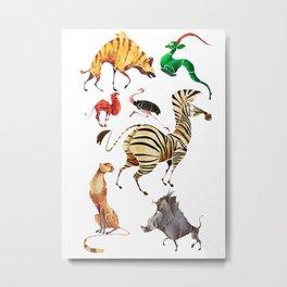 African animals 2 Metal Print