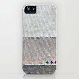 Hayward, minimalist abstract, NYC artist iPhone Case