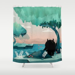 The Journey Shower Curtain