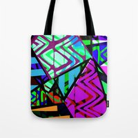honeycomb Tote Bags featuring Honeycomb by Sarah Bagshaw