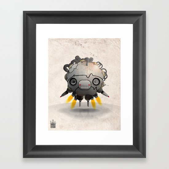 Antigravity Prototype V-3.03 Framed Art Print