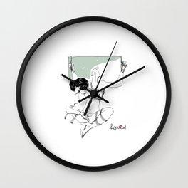 OxyDHEA Shibari - Mint 01 Wall Clock