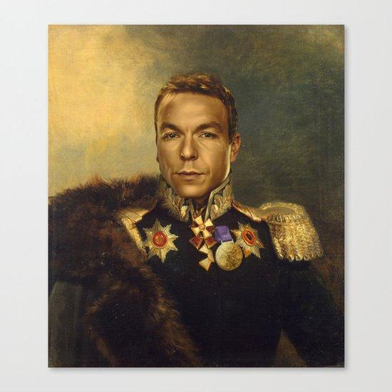 Sir Chris Hoy - replaceface Canvas Print