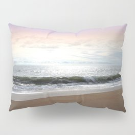 Light Pastel Seascape Pillow Sham
