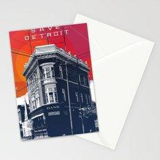 Save Detroit Stationery Cards