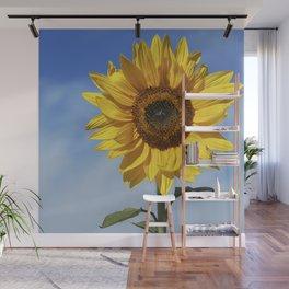 Sunflower flower Wall Mural