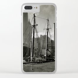 New York Vintage picture (circa 1935) Clear iPhone Case