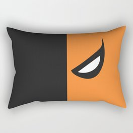 Deathstroke Mask Rectangular Pillow