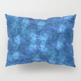 I'm Blue; Fluid Abstract 57 Pillow Sham