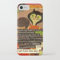 skyfall iPhone & iPod Cases featuring skyfall by karen owens