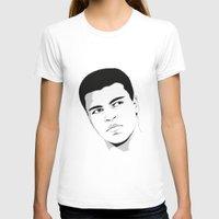 ali gulec T-shirts featuring Ali II by Renan Lacerda