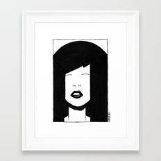 My China Girl Framed Art Print