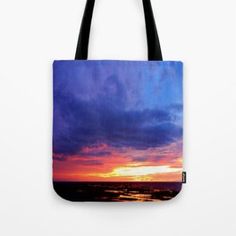 Evening's Face Tote Bag