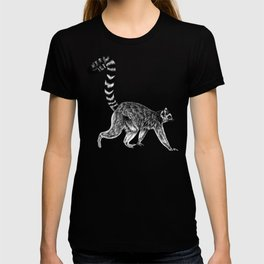 Walking lemur 1 T-shirt