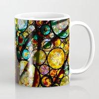 fairy tale Mugs featuring Fairy Tale Tree by Klara Acel