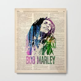 ONE LOVE - on dictionary page Metal Print