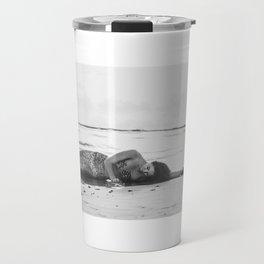 Mermaid Among Us (sunrise)  Travel Mug