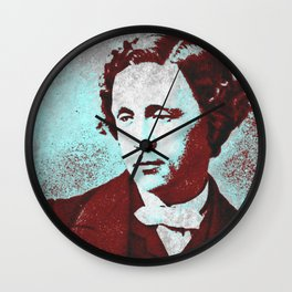 Lewis Caroll Wall Clock