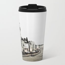 Old sea front Travel Mug