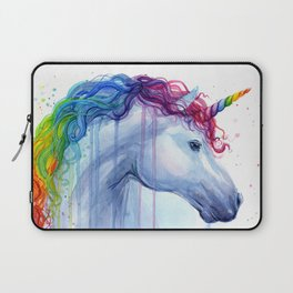 Magical Rainbow Unicorn Laptop Sleeve