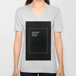Humanity Against Trump - Political Take on Cards Against Humanity Unisex V-Neck
