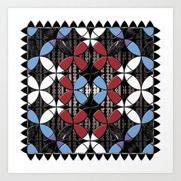 African Cowrie Shells Art Print