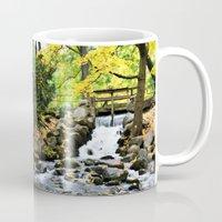 waterfall Mugs featuring Waterfall by Juliana RW