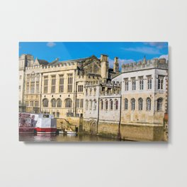 York City Guildhall in the spring sunshine. Metal Print