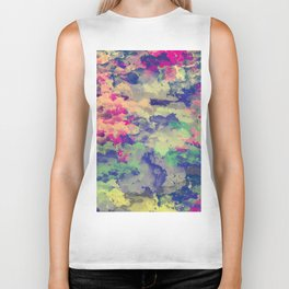 Abstract painting X 0.3 Biker Tank